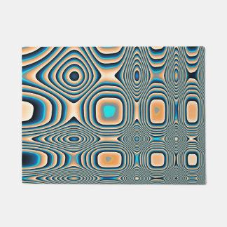 Geometric Elegance Doormat
