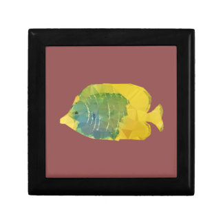 Geometric Fish Gift Box