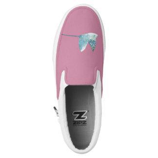 Geometric Fish Slip-On Sneakers