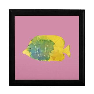 Geometric Fish Trinket Box