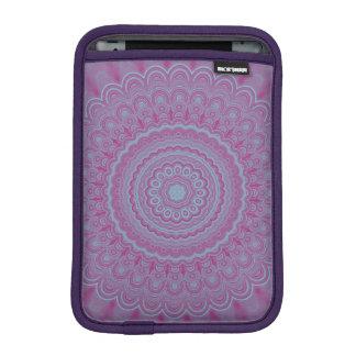 Geometric flower mandala iPad mini sleeve