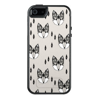Geometric Fox Head Woodland Animal / Andrea Lauren OtterBox iPhone 5/5s/SE Case