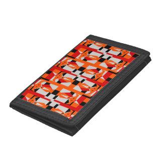Geometric Foxes Tri-fold Wallet
