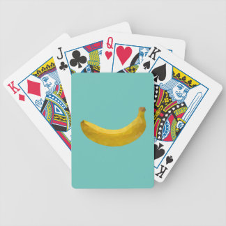 Geometric Fruit Bicycle Playing Cards