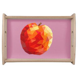 Geometric Fruit Serving Tray