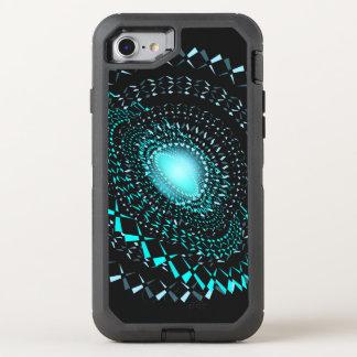 Geometric galaxy OtterBox defender iPhone 8/7 case