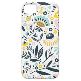 Geometric Garden Floral Pastel Pattern iPhone 5 Case