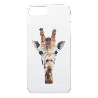 Geometric Giraffe Phone Case