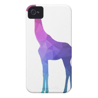 Geometric Giraffe with Vibrant Colors Gift Idea Case-Mate iPhone 4 Case
