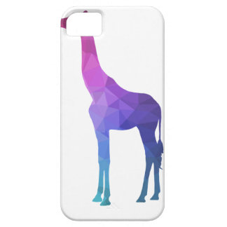 Geometric Giraffe with Vibrant Colors Gift Idea iPhone 5 Cover
