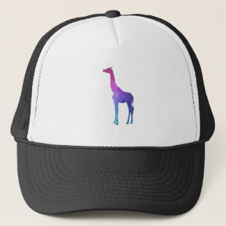 Geometric Giraffe with Vibrant Colors Gift Idea Trucker Hat