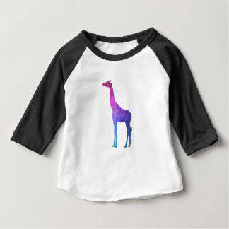 Geometric Giraffe with Vibrant Colours Gift Idea Baby T-Shirt