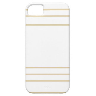 Geometric Gold Concentric Squares iPhone 5 Covers