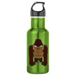 geometric gorilla.cartoon gorilla 532 ml water bottle