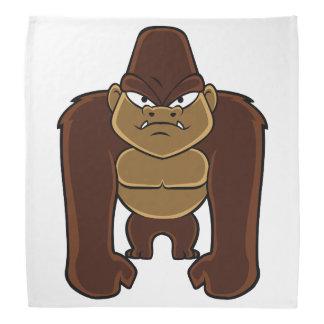 geometric gorilla.cartoon gorilla bandana