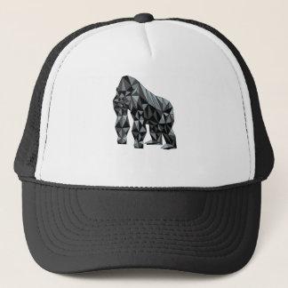 Geometric Gorilla Trucker Hat