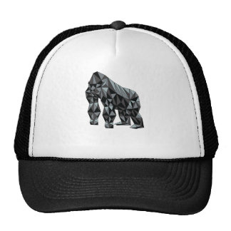 Geometric Gorilla Trucker Hat