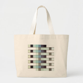 Geometric Grunge Graphic Large Tote Bag