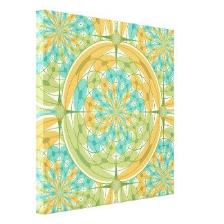 Geometric harmony canvas print