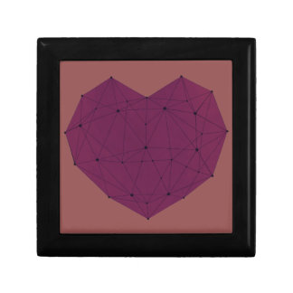 Geometric Heart Gift Box