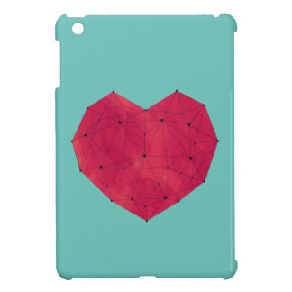 Geometric Heart iPad Mini Cases