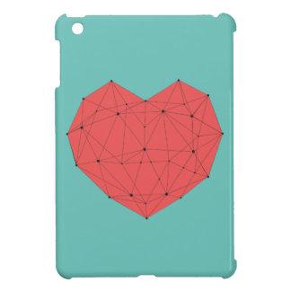Geometric Heart iPad Mini Covers