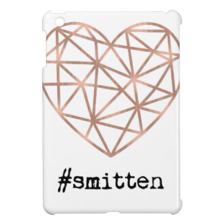 Geometric Heart Smitten iPad Mini Cover
