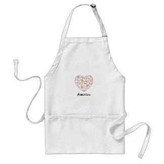 Geometric Heart Smitten Standard Apron
