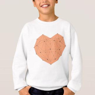 Geometric Heart Sweatshirt