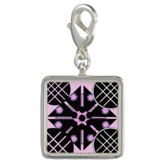 Geometric in Pink Charm
