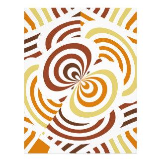 Geometric infinity full color flyer