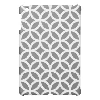 Geometric Ipad Mini Case - Titanium Gray