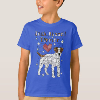 Geometric Jack Russell Terrier T-Shirt