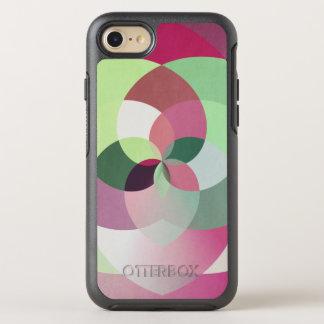 Geometric Kaleidoscope Design in Multiple Colors OtterBox Symmetry iPhone 7 Case