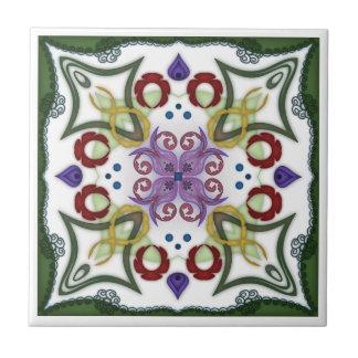 Geometric Kaleidoscope Mirror Design - Trivet 1