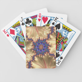 Geometric Landscape with Tender Exclusion Fractal Bicycle Playing Cards