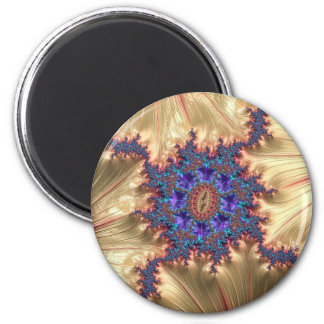 Geometric Landscape with Tender Exclusion Fractal Magnet