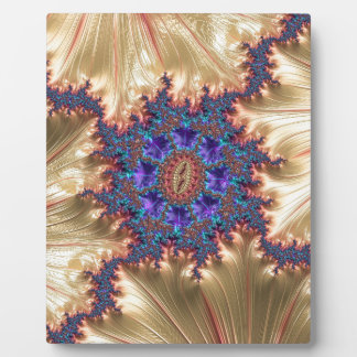 Geometric Landscape with Tender Exclusion Fractal Plaque