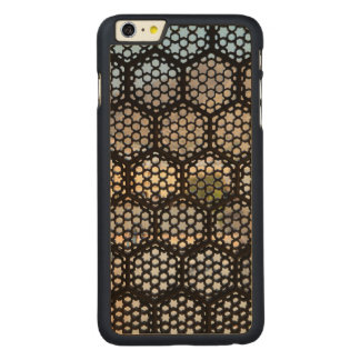 Geometric Lattice window, India Carved® Maple iPhone 6 Plus Case