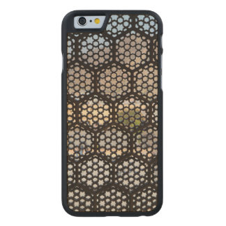 Geometric Lattice window, India Carved® Maple iPhone 6 Slim Case