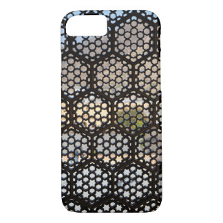 Geometric Lattice window, India iPhone 7 Case