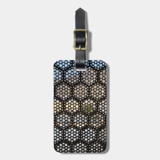 Geometric Lattice window, India Luggage Tag