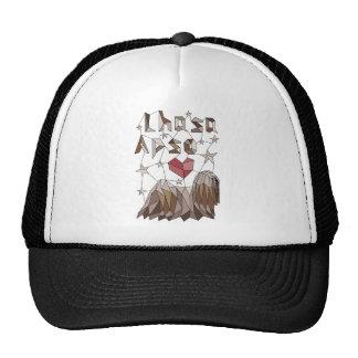 Geometric Lhasa Apso Trucker Hat