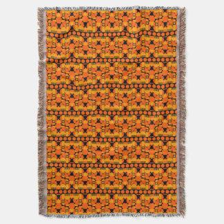 Geometric London Throw Blanket