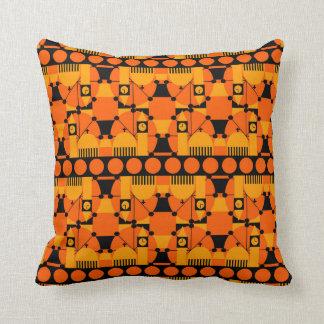 Geometric London Throw Pillow