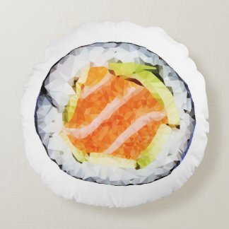 Geometric Low Poly Sushi Pillow