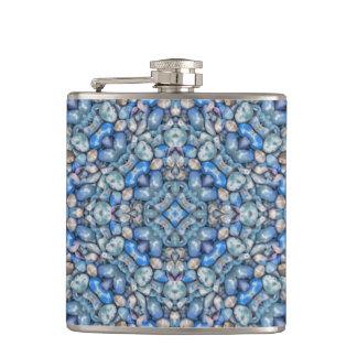 Geometric Luxury Ornate Hip Flask