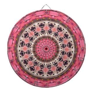 Geometric Mandala Design Dart Board