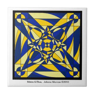 Geometric Mandala Tile