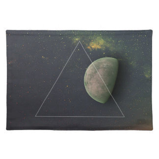Geometric Moon Placemat